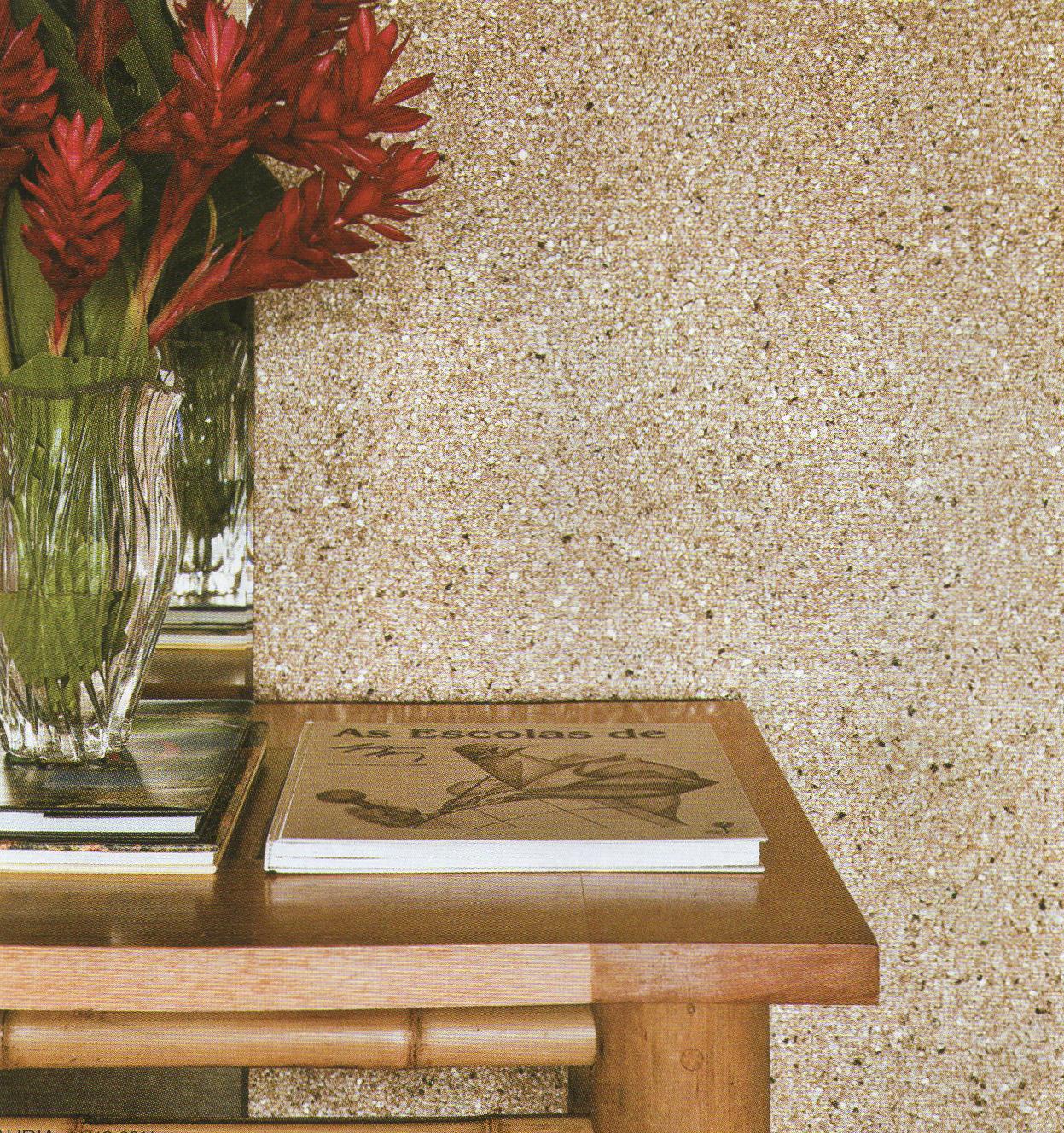 papel de parede decoracao de interiores:detalhe do papel de parede de mica
