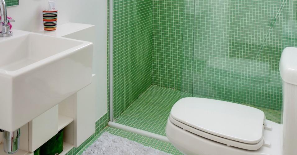 Pastilhas No Piso Do Banheiro Arquitetura Interiores